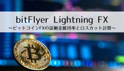 bitFlyer Lightning FX~ビットコインFXの証拠金維持率とロスカット計算~