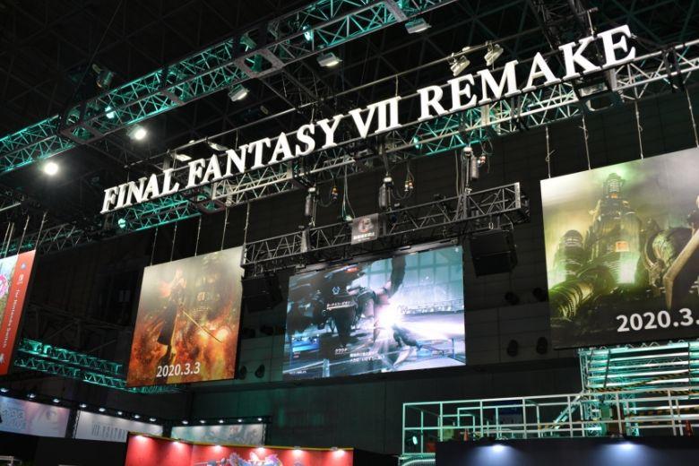 東京ゲームショウ2019 スクエアエ・エニックス ファイナルファンタジーブース