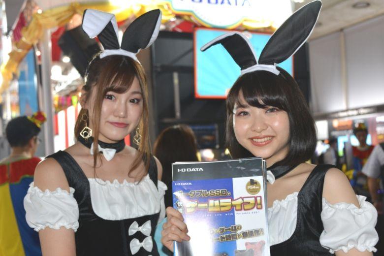 東京ゲームショウ2019 アイ・オー・データ機器 コスプレ コンパニオン