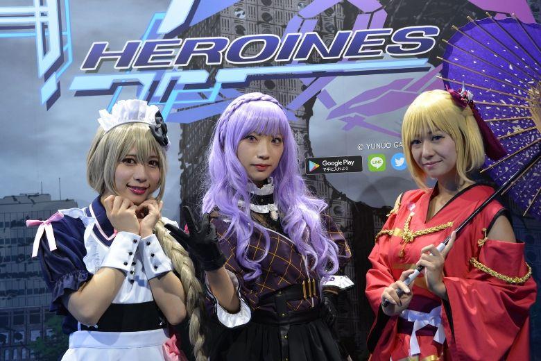 東京ゲームショウ2019 YUNUO GAMES 47 HEROINESのコスプレ