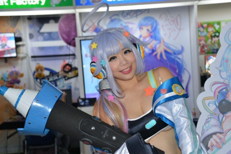 東京ゲームショウ2019 Fruitbat Factory コスプレ コンパニオン