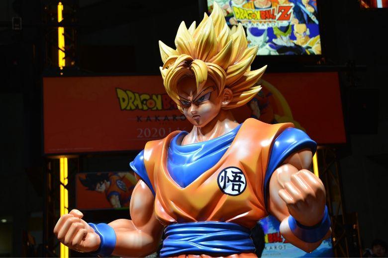 東京ゲームショウ2019 バンダイナムコエンターテイメント 悟空等身大フィギュア