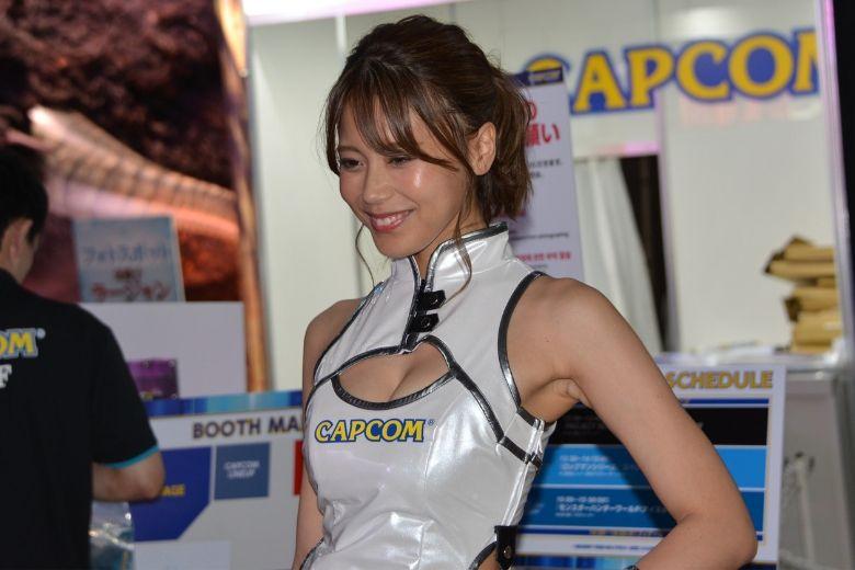 東京ゲームショウ2019 カプコン コンパニオン