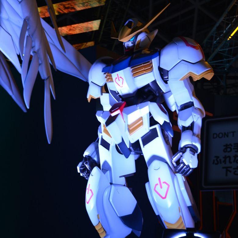 東京ゲームショウ2019 バンダイナムコエンターテイメント ガンダムバルバトス巨大フィギュア