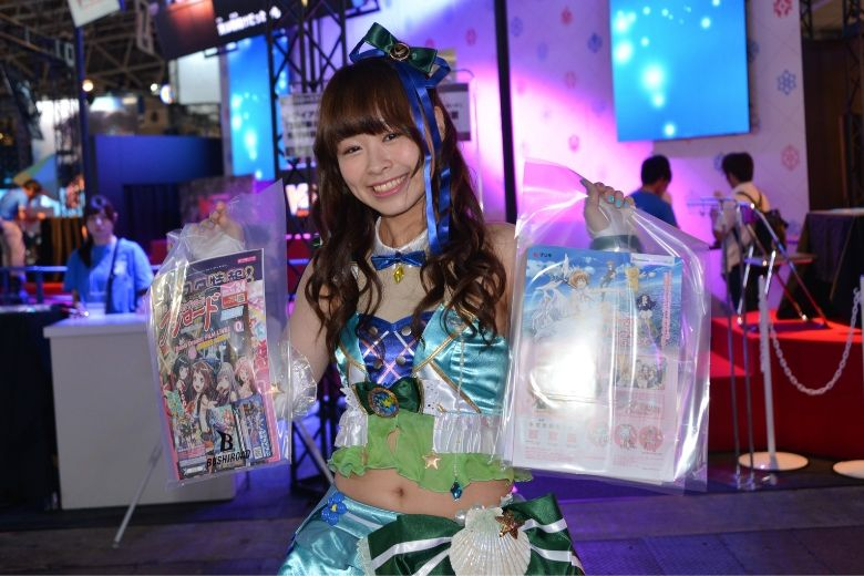 東京ゲームショウ2019 カードファイト!!ヴァンガード コンパニオン