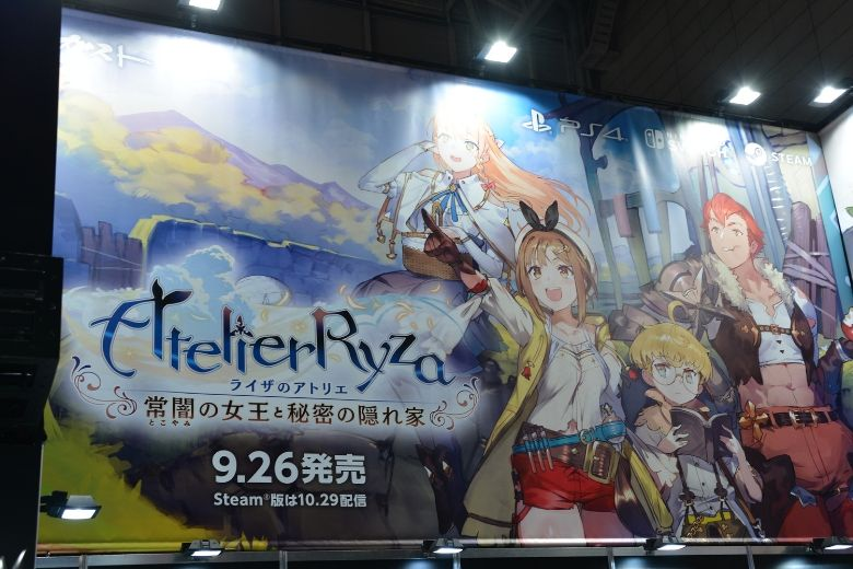 東京ゲームショウ2019 コーエーテクモゲームス ライザのアトリエ