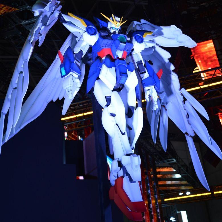 東京ゲームショウ2019 バンダイナムコエンターテイメント ウイングガンダムゼロ巨大フィギュア