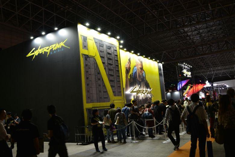 東京ゲームショウ2019 サイバーパンク2077 シアターブース