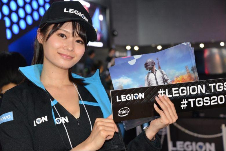 東京ゲームショウ2019 レノボ・ジャパン コンパニオン