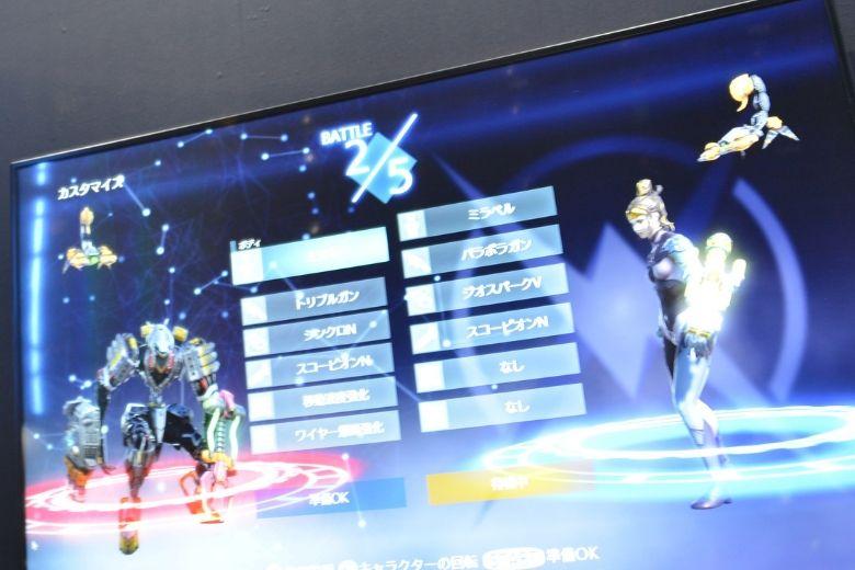 東京ゲームショウ2019 YUNUO GAMES 試遊画面