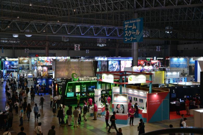 東京ゲームショウ2019 幕張メッセの会場全体