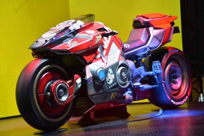 東京ゲームショウ2019 サイバーパンク2077 バイクフィギュア
