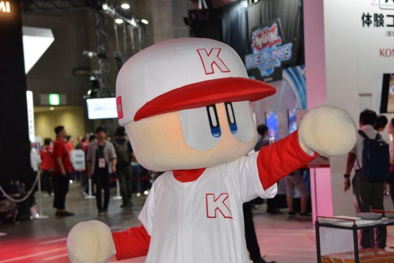 東京ゲームショウ2019 KONAMI パワプロ 着ぐるみ