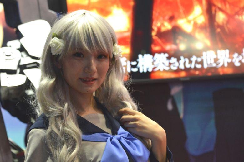 東京ゲームショウ2019 セガゲームス/アトラス コスプレ コンパニオン