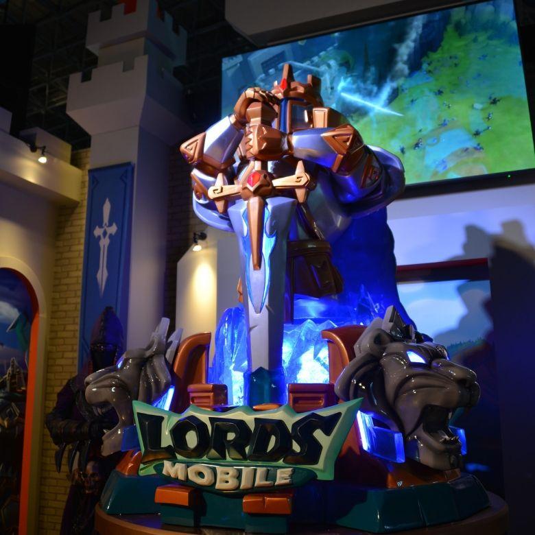 東京ゲームショウ2019 IGG Lords Mobile フィギュア