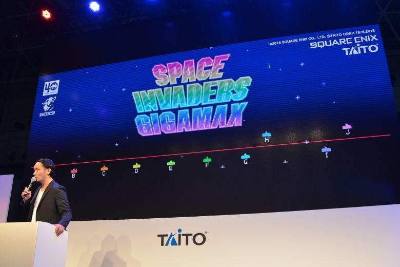 東京ゲームショウ2019 タイトー SPACE INVADERS GIGAMAX 試遊