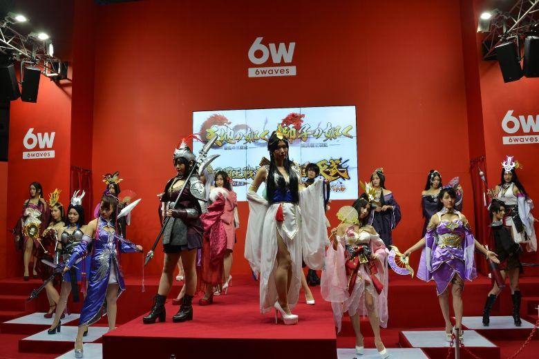 東京ゲームショウ2019 6waves コスプレショー