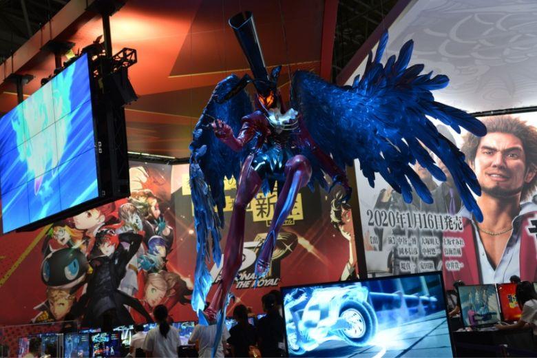 東京ゲームショウ2019 セガゲームス/アトラス ペルソナ アルセーヌ巨大フィギュア