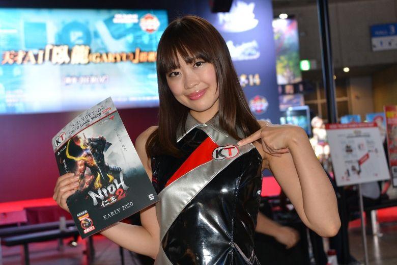 東京ゲームショウ2019 コーエーテクモゲームス コンパニオン