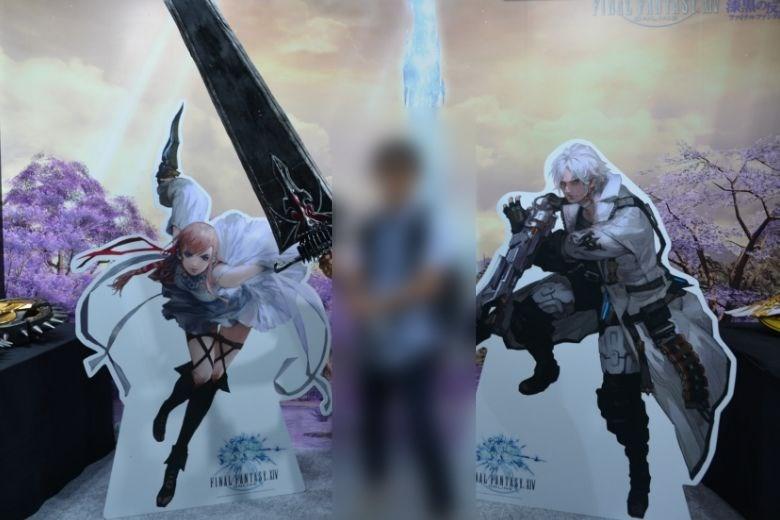 東京ゲームショウ2019 スクエアエ・エニックス ファイナルファンタジー 武器撮影スポット