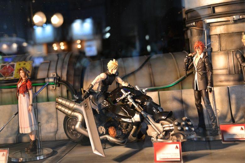 東京ゲームショウ2019 スクエアエ・エニックス ファイナルファンタジーフィギュア