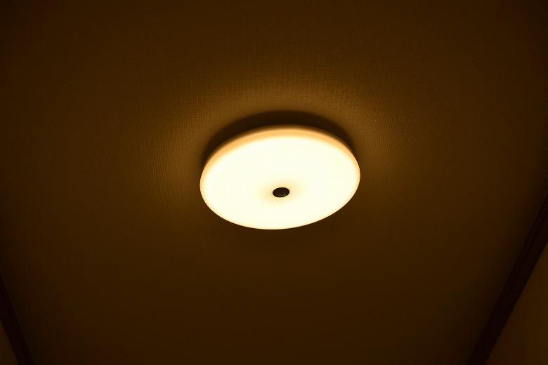 人感センサー付きLED照明