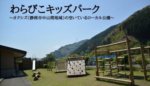 わらびこキッズパーク~オクシズ(静岡市中山間地域)の空いているローカル公園~