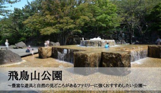 飛鳥山公園~豊富な遊具と自然の見どころがあるファミリーに強くおすすめしたい公園~