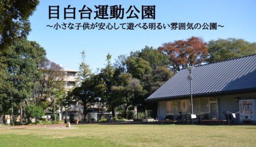 文京区立目白台運動公園~小さな子供が安心して遊べる明るい雰囲気の公園~