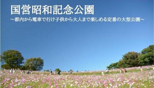 国営昭和記念公園~都内から電車で行け子供から大人まで楽しめる定番の大型公園~