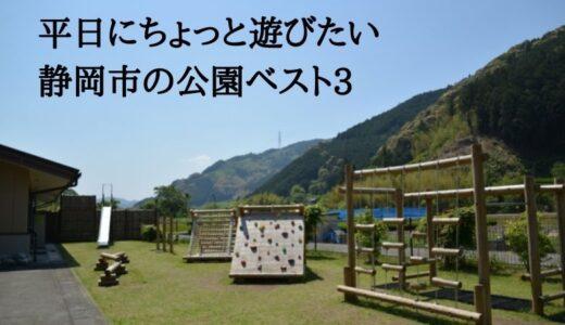平日にちょっと遊びたい静岡市の公園ベスト3