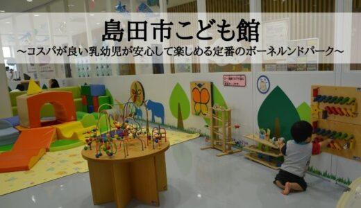 島田市こども館~コスパが良い乳幼児が安心して楽しめる定番のボーネルンドパーク~