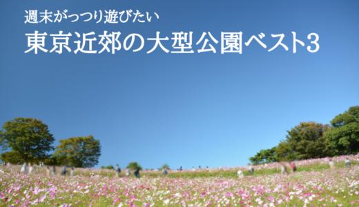 週末がっつり遊びたい東京近郊の大型公園ベスト3